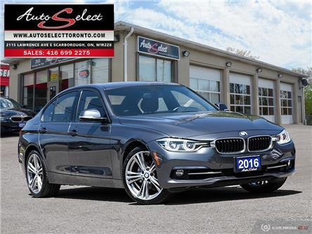 2016 BMW 328i xDrive (Stk: 1X6T12R) in Scarborough - Image 1 of 27