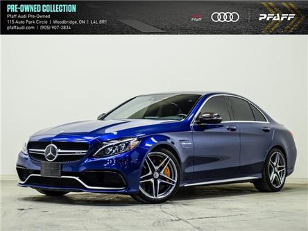 2018 Mercedes-Benz AMG C 63 S (Stk: T19561A) in Vaughan - Image 1 of 20