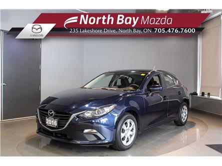 2016 Mazda Mazda3 Sport GX (Stk: 21205A) in North Bay - Image 1 of 23