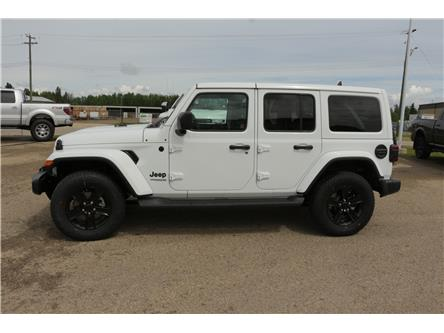 2021 Jeep Wrangler Unlimited Sahara (Stk: MT107) in Rocky Mountain House - Image 1 of 12