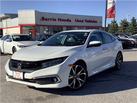 2020 Honda Civic Touring (Stk: 11-21714A) in Barrie - Image 1 of 25