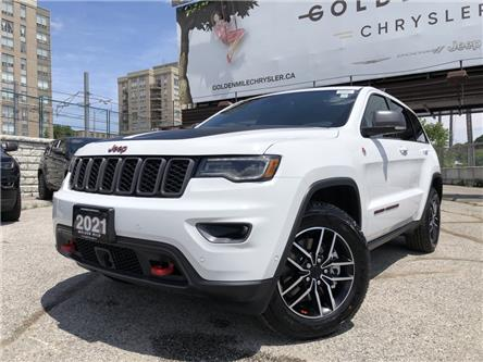 2021 Jeep Grand Cherokee Trailhawk (Stk: 21166) in North York - Image 1 of 30
