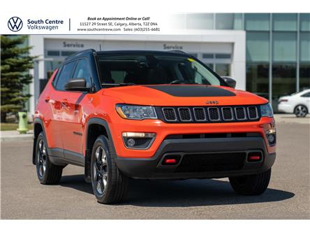 2017 Jeep Compass Trailhawk (Stk: 00113A) in Calgary - Image 1 of 38