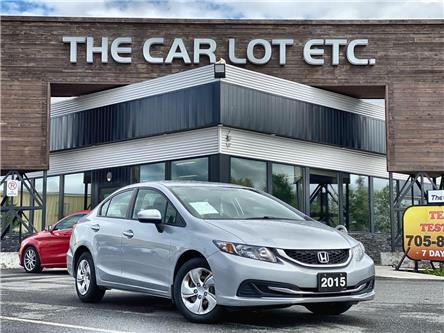 2015 Honda Civic LX (Stk: 21319) in Sudbury - Image 1 of 23