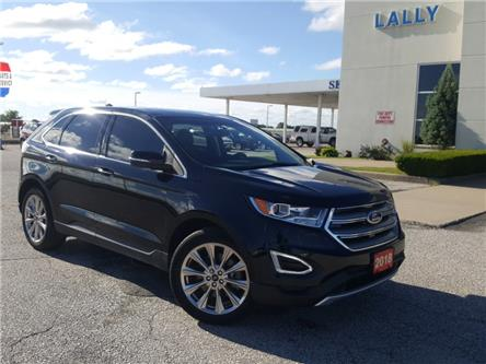 2018 Ford Edge Titanium (Stk: S10676A) in Leamington - Image 1 of 32