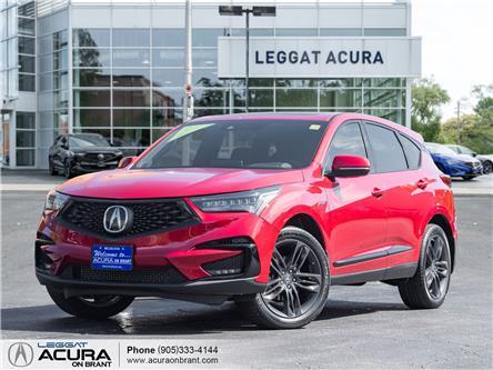 2019 Acura RDX A-Spec (Stk: 4498) in Burlington - Image 1 of 25