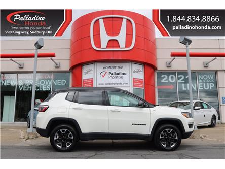 2018 Jeep Compass Trailhawk (Stk: 23350A) in Greater Sudbury - Image 1 of 37