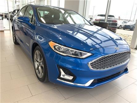 2019 Ford Fusion Hybrid Titanium (Stk: F0383) in Saskatoon - Image 1 of 11