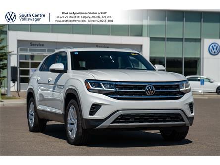 2021 Volkswagen Atlas Cross Sport 3.6 FSI Highline (Stk: 10307) in Calgary - Image 1 of 43