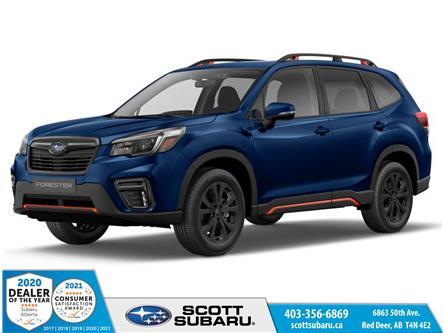 2021 Subaru Forester Sport (Stk: 561160) in Red Deer - Image 1 of 9
