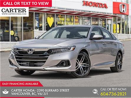 2021 Honda Accord Touring 1.5T (Stk: 6M19740) in Vancouver - Image 1 of 24