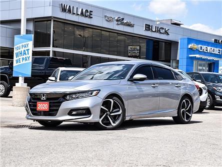 2020 Honda Accord Sedan Sport CVT SUNROOF, NAV, LEATHER (Stk: 114784A) in Milton - Image 1 of 22