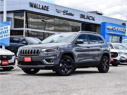 2020 Jeep Cherokee Limited 4x4, REMOTE START, POWER LIFTGATE, LEATHER (Stk: 043418A) in Milton - Image 1 of 25
