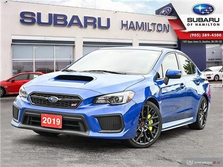 2019 Subaru WRX STI Sport-tech w/Wing (Stk: S8970A) in Hamilton - Image 1 of 30