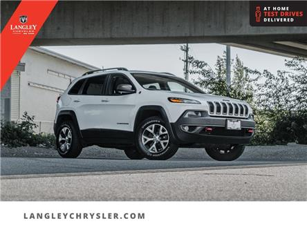 2016 Jeep Cherokee Trailhawk (Stk: M714883A) in Surrey - Image 1 of 29
