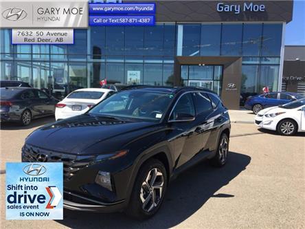 2022 Hyundai Tucson Hybrid Luxury (Stk: 2TU0068) in Red Deer - Image 1 of 11