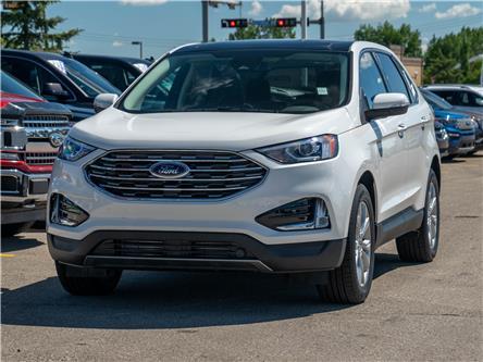 2021 Ford Edge Titanium (Stk: M-1315) in Okotoks - Image 1 of 7