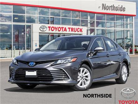 2021 Toyota Camry Hybrid LE (Stk: S21009) in Sault Ste. Marie - Image 1 of 23