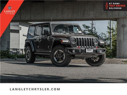 2021 Jeep Wrangler Unlimited Rubicon (Stk: M719088) in Surrey - Image 1 of 23