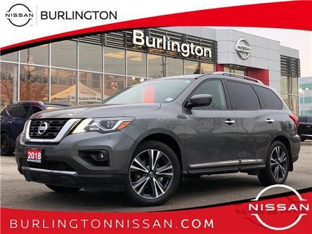 2018 Nissan Pathfinder Platinum (Stk: A7138) in Burlington - Image 1 of 19
