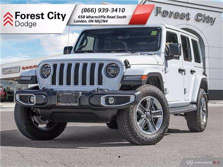 2019 Jeep Wrangler Unlimited Sahara (Stk: DT0075) in London - Image 1 of 35