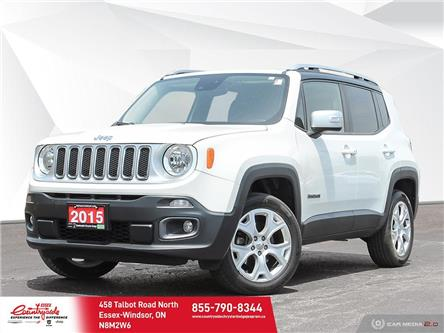 2015 Jeep Renegade Limited (Stk: 610061) in Essex-Windsor - Image 1 of 30