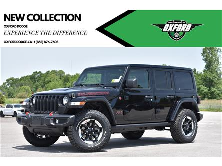 2021 Jeep Wrangler Unlimited Rubicon (Stk: 21547) in London - Image 1 of 23