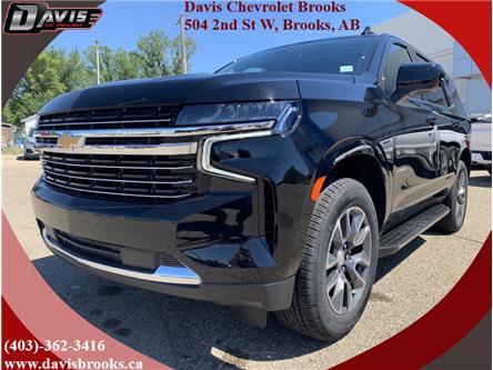 2021 Chevrolet Tahoe LT (Stk: 228530) in Brooks - Image 1 of 21