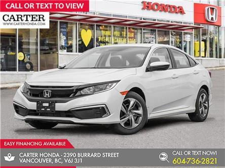 2021 Honda Civic LX (Stk: 3M34910) in Vancouver - Image 1 of 24
