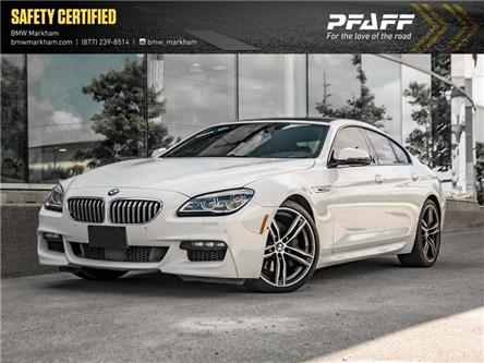 2018 BMW 650 Gran Coupe  (Stk: O14472) in Markham - Image 1 of 22