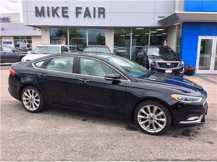 2017 Ford Fusion Platinum (Stk: 21083A) in Smiths Falls - Image 1 of 16