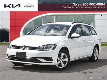 2018 Volkswagen Golf SportWagen 1.8 TSI Comfortline (Stk: K3276) in Mississauga - Image 1 of 27