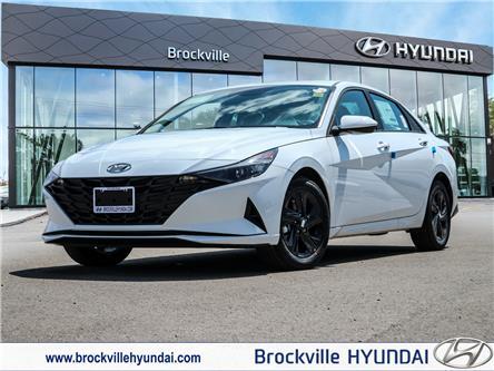 2021 Hyundai Elantra Preferred w/Sun & Tech Pkg (Stk: R21326) in Brockville - Image 1 of 22