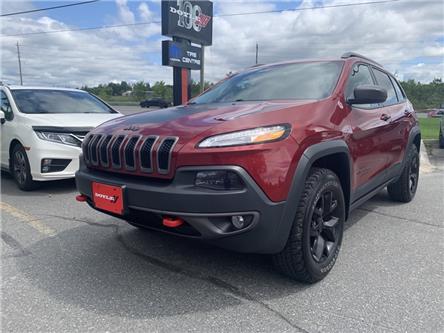 2017 Jeep Cherokee Trailhawk (Stk: 69521) in Sudbury - Image 1 of 19