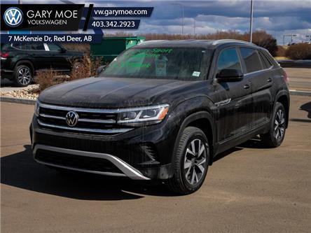 2021 Volkswagen Atlas Cross Sport Comfortline 2.0 TSI (Stk: 1CS7973) in Red Deer County - Image 1 of 16