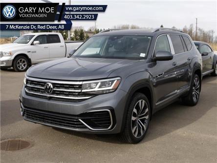 2021 Volkswagen Atlas Execline 3.6 FSI (Stk: 1AT2181) in Red Deer County - Image 1 of 18
