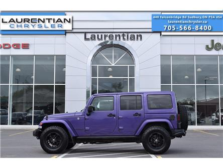 2017 Jeep Wrangler Unlimited Sahara (Stk: 21333A) in Greater Sudbury - Image 1 of 29
