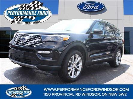 2021 Ford Explorer Platinum (Stk: EX55804) in Windsor - Image 1 of 17