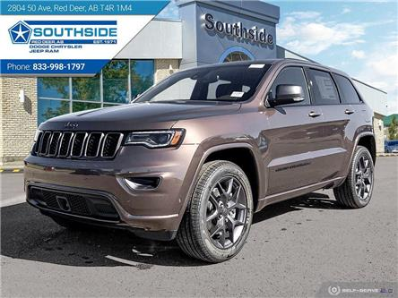 2021 Jeep Grand Cherokee Limited (Stk: GC2149) in Red Deer - Image 1 of 25