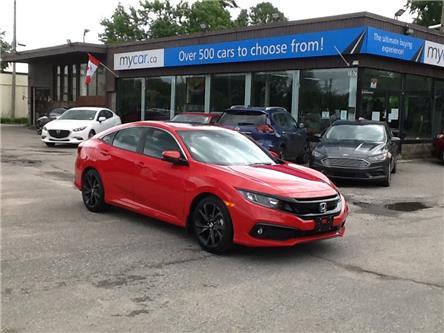 2021 Honda Civic Sport (Stk: 210573) in North Bay - Image 1 of 22