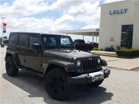 2015 Jeep Wrangler Unlimited Sahara (Stk: S7002B) in Leamington - Image 1 of 32