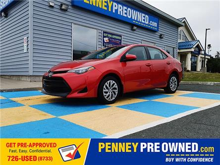 2017 Toyota Corolla LE (Stk: M21608) in Mount Pearl - Image 1 of 14