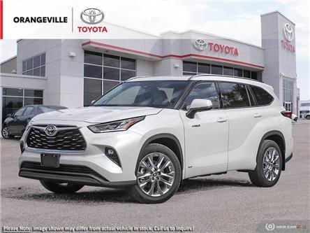 2021 Toyota Highlander Hybrid Limited (Stk: 21191) in Orangeville - Image 1 of 23