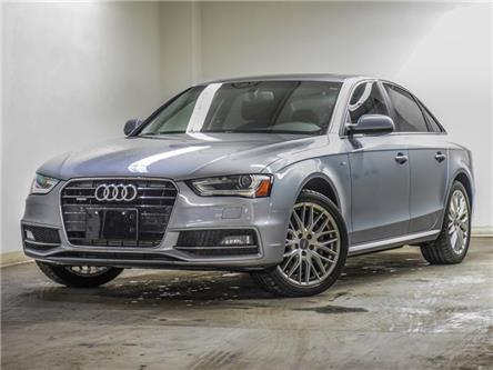 2015 Audi A4 2.0T Komfort (Stk: A14066AA) in Newmarket - Image 1 of 24