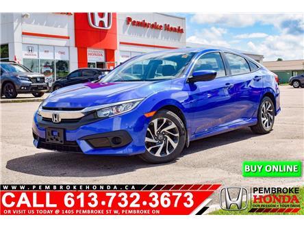 2018 Honda Civic SE (Stk: 21050A) in Pembroke - Image 1 of 12