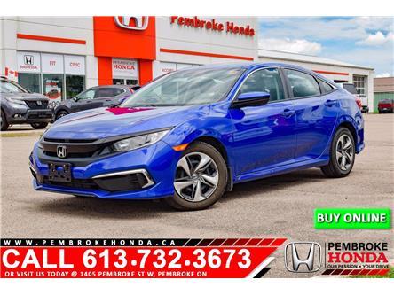 2019 Honda Civic LX (Stk: P7565) in Pembroke - Image 1 of 11