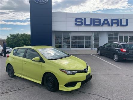 2017 Toyota Corolla iM Base (Stk: L034A) in Newmarket - Image 1 of 10