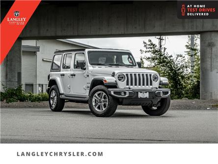 2020 Jeep Wrangler Unlimited Sahara (Stk: M567374A) in Surrey - Image 1 of 26