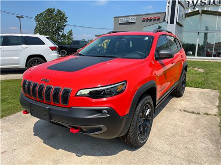 2021 Jeep Cherokee Trailhawk (Stk: 21026) in Meaford - Image 1 of 15