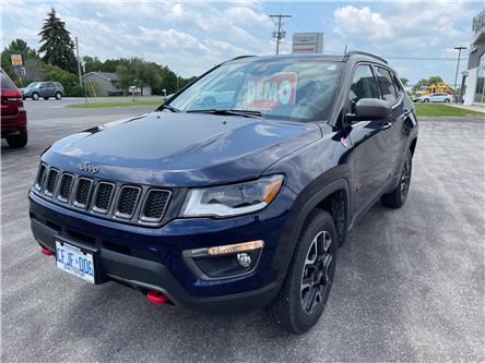 2021 Jeep Compass Trailhawk (Stk: 21031) in Meaford - Image 1 of 15
